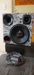 Caixa de som mais modulo