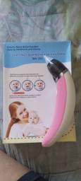 Aspirador nasal elétrico