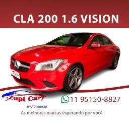 Título do anúncio: CLA 200 2014/2015 1.6 VISION 16V GASOLINA 4P AUTOMÁTICO