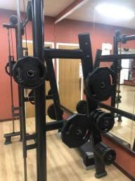 Anilhas 150kg para Musculação