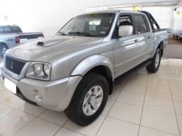 Título do anúncio: mitsubishi l200 2.5 hpe sport prata 4x4 cd diesel