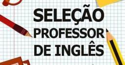 Título do anúncio: Vaga para professor de inglês