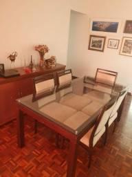 Título do anúncio: Mesa de jantar com 5 cadeiras