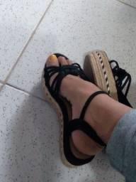 Título do anúncio: Sandália plataforma alta