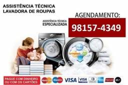 Título do anúncio: Assistência Técnica em Máquinas de Lavar Multimarcas - Atendimento 24hrs