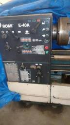 Torno mecânico romi E 40 A, 200m/650mm