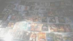 350 DVD's de Filmes variados gravados com capa
