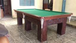 Mesa de sinuca madeira macica