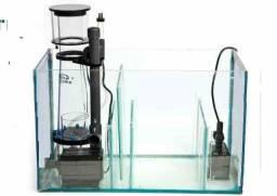 Sump - Caixa de Circulação de 30x20x25cm Vidro 4mm - Aquário Doce/Marinho até 80 litros