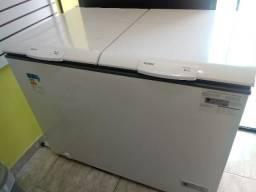 Freezer Horizontal 534 Ltros Consul 2 Portas Nota e Garantia