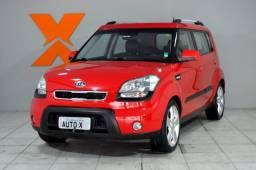 Kia Motors SOUL 1.6 16V  Aut. - Vermelho - 2011 - 2011