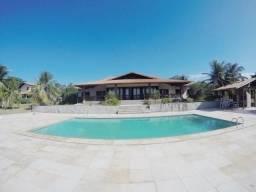 SI0013 Mansão em Uruaú, 12 quartos, piscina, projetada e mobiliada, Beberibe