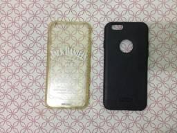 02 capas (case) para Iphone 6 ou 6S em ótimo estado de conservação