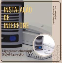Instalação de Interfone e Vídeo porteiro