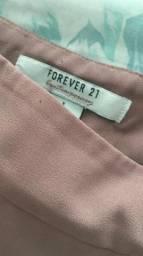 Short saia envelope forever 21