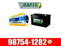 Baterias de caminhonetas e vans de 90ah Moura Heliar