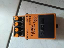 Pedal Boss turbo distortion ds2 aceito pedais pedaleira