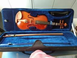 Violino Eagle 4/4 com acessórios completo (ver descrição)