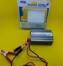 Inversor de Energia ( Knup 500W ) 12V - 220V - Usado 1 Vez