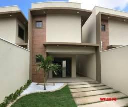 CA1797 Casas duplex com 3 quartos, 2 vagas de garagem, amplo quintal, Eusébio