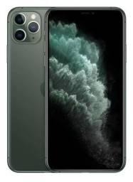 IPhone 11 Pro Max 256 GB Green Mid Night Lacrado Novo 12 X de 750