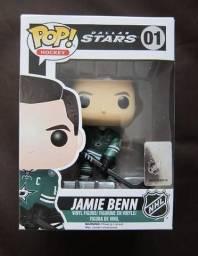 Boneco Funko Pop NHL Hóquei Dallas Stars Jamie Benn