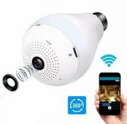 Câmera de Segurança Lâmpada Espiã