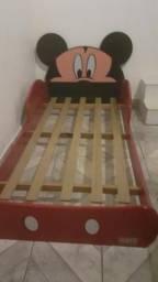 Cama infantil Mickey + colchão