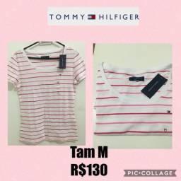 Blusinha Tommy Hilfiger Feminina Original 920ddb92a3c4a