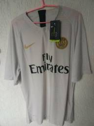 fbfedc1e4713c Camisa Psg Jogador Nike Vapor Reserva Temporada 18\19 ...