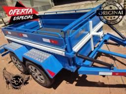 2 eixos, 120x200 carretinha super resistente, A melhor carretinha do Brasil