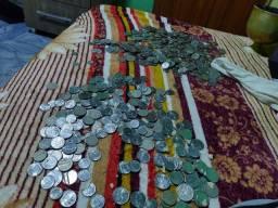 Moedas antigas , cruzeiro e centavos