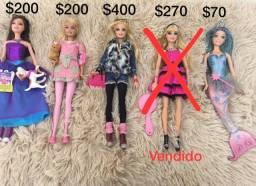 Barbies colecionáveis