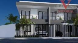 Sobrado duplex no (Riacho Doce) Campo do Santana em Curitiba PR; 03 Dormitórios;