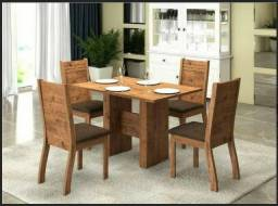 Mesa Jantar MDF 4 Cadeiras - Promoção