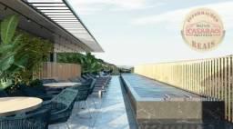 Apartamento com 1 dormitório à venda, 45 m² por R$ 207.000,00 - Canto do Forte - Praia Gra