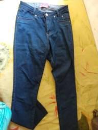 Calça jeans Tam 40 com Lycra feminina leia a descrição