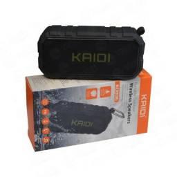 Caixa de som portatil Kaidi KD-806 Bluetooth Wireless 8W Entrada Aux SD Resistente agua