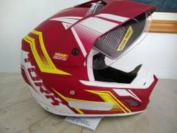O-Fer-Ta Capacete motocross protork vision th1