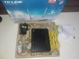 Modem Roteador TP-Link ADSL2+ Ready Preto