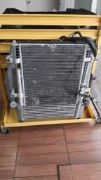Radiador mercedez água atego eintercooler