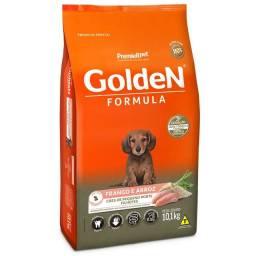 Ração Golden Fórmula Mini Bits para Cães Filhotes Frango e Arroz 10,1kg
