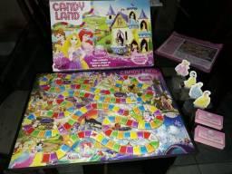 Jogo de Tabuleiro Candy Land Disney princesas - Hasbro