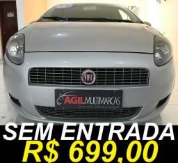 Fiat Punto 1.4 Itália Attractive Único dono 2012 Prata