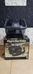 Flight sim yoke