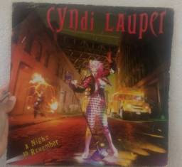 LP Vinil Cyndi Lauper, A Night to Remember (pop rock)