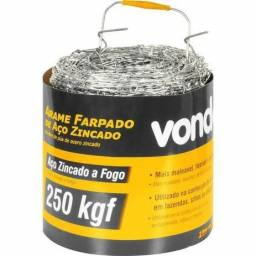 Título do anúncio: Arame Farpado 250Kgf 250 metros - Vonder
