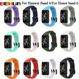 Título do anúncio: Pulseiras Honor/Huawei Band 6