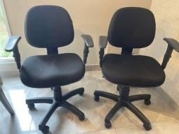 Título do anúncio: Cadeiras de escritório giratórias com apoio de braço