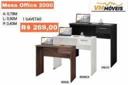 Título do anúncio: Mesa Office 2000 Promoção Só Hoje Entregamos e Parcelamos no Cartão de Crédito